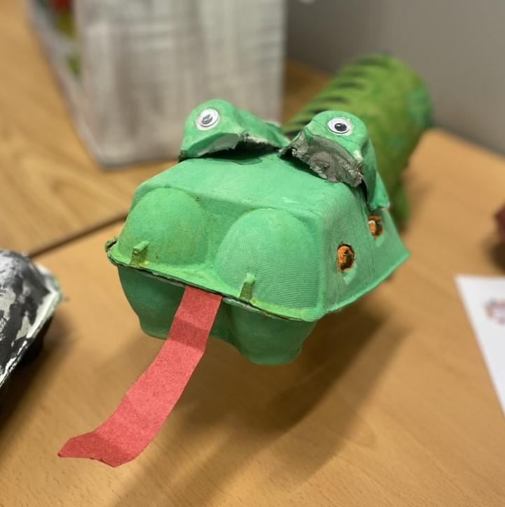 Crocodile Egg Box Competition Creation