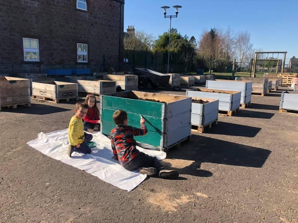 Southmuir Primary School Garden