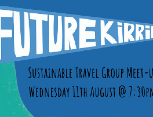 Future Kirrie: Sustainable Travel Group August Meet-Up
