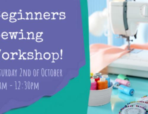 Beginners Sewing Workshop